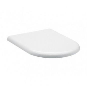 CLODIA sedile termoindurente bianco con cerniere inox J104900 - Sedili per WC