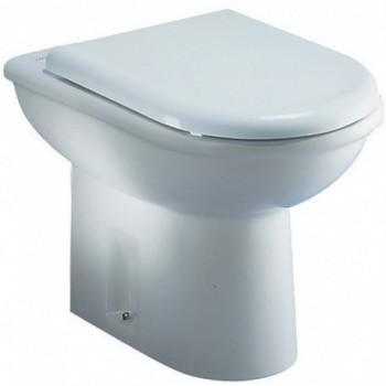 DOLOMITE Clodia J254600 Vaso a terra con sedile finitura bianco europa J254600 - Vasi WC