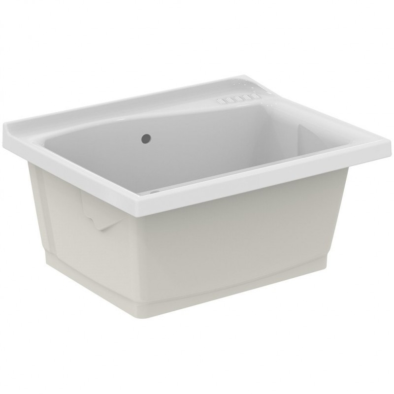 LAGO lavatoio da incasso 75x61cm bianco (SOLO LAVATOIO) J305900 - Lavatoi