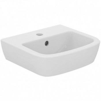 GEMMA 2 lavamani monoforo 40x36 bianco europa J521901 - Lavabi e colonne
