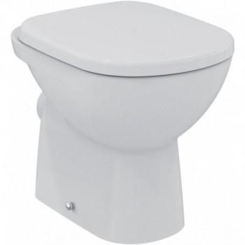 GEMMA 2 vaso wc a pavimento, senza sedile, cm 51,5x36 bianco europa J522301 - Vasi WC