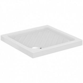 GEMMA 2 piatto doccia 75x75x7cm bianco europa J526101 - Piatti doccia