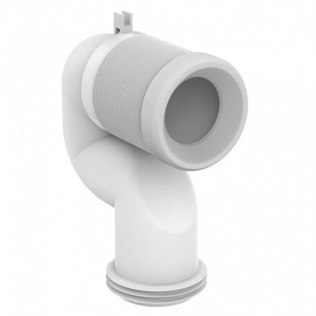 CONNECT curva tecnica per scarico pavimento 16÷20cm T002667 - Accessori