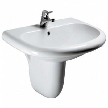 TESI CLASSIC lavabo bacino ampio 65x54,5 bianco europa T090261 - Lavabi e colonne