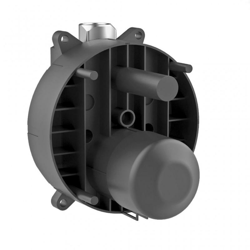 Ideal Standard Corpo ad incasso, per Miscelatore rubinetto monocomando ad incasso, angolo di funzionamento a 120°, neutro A13...