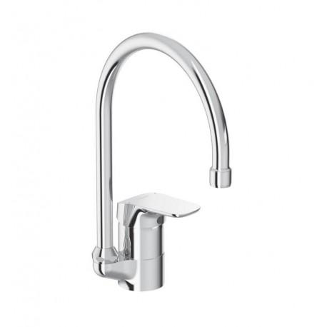 Base Miscelatore rubinetto monocomando lavello cromato B5122AA - Per lavelli