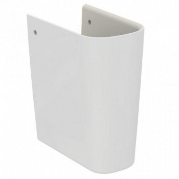 ESEDRA semicolonna in ceramica bianca T282901 - Lavabi e colonne