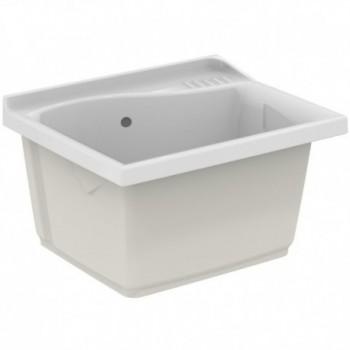 LAGO lavatoio da incasso 61 x. 50 cm, bianco (solo lavatoio) J089200 - Lavatoi