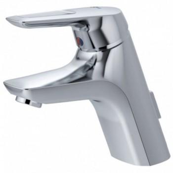 CERAMIX BLU Miscelatore rubinetto monocomando lavabo TUBI FLESS. CR A5646AA - Per lavabi