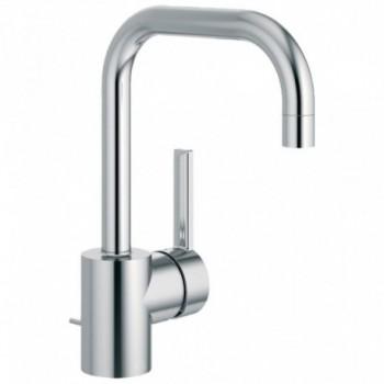 NEON Miscelatore rubinetto monocomando LAV. BOCCA TUB.+asta scarico CR A5704AA - Per lavabi