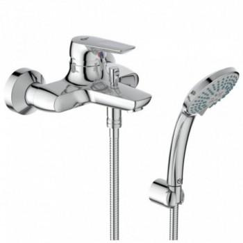 CERAMIX BLU Miscelatore rubinetto monocomando esterno vasca / doccia cromato B9491AA - Gruppi per vasche