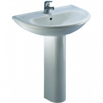 CLODIA lavabo 60x51 bianco J050200 - Lavabi e colonne