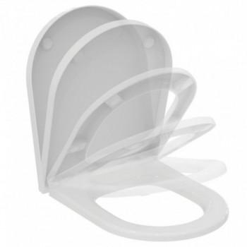 Blend Curve Sedile per vaso Blend Curve a chiusura rallentata. Bianco. T376001 - Sedili per WC