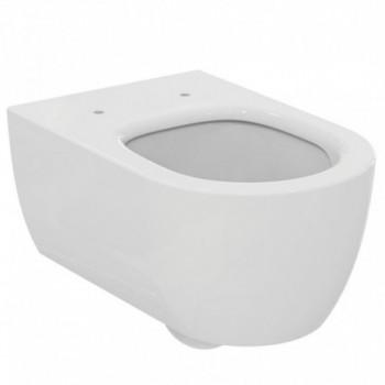 Blend Curve Vaso sospeso Aquablade con fissaggi nascosti, senza sedile. T374901 - Vasi WC