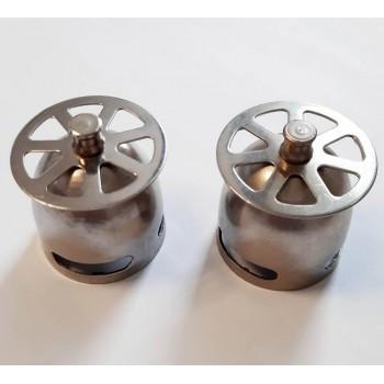 Cestello acciaio inox per piletta vasca 453000AI - Pilette in ottone