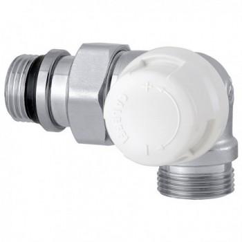 """226 Valvola termostatica doppia squadra. Versione destra. Attacco radiatore 1/2"""" - Attacco tubazione 23 p.1,5 226412 - Per co..."""