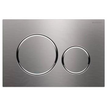 Geberit Sigma20 - Placca Pulsante di azionamento Sigma20, acciaio inox 115.882.SN.1 - Cassette di risciacquo