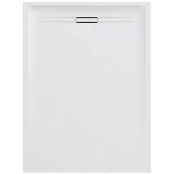 Geberit SESTRA piatto doccia rettangolare L.90 P.120 cm, colore bianco finitura effetto pietra 550.255.00.1 - Piatti doccia