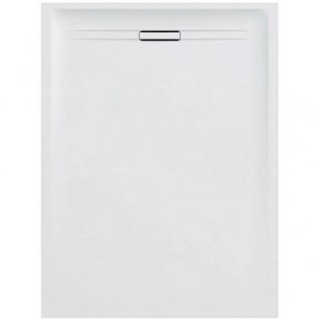 Geberit SESTRA piatto doccia rettangolare L.80 P.160 cm, colore bianco finitura effetto pietra 550.258.00.1 - Piatti doccia