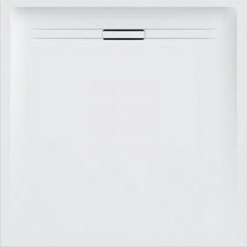 Geberit SESTRA piatto doccia quadrato 90 cm, colore bianco finitura effetto pietra 550.250.00.1 - Piatti doccia