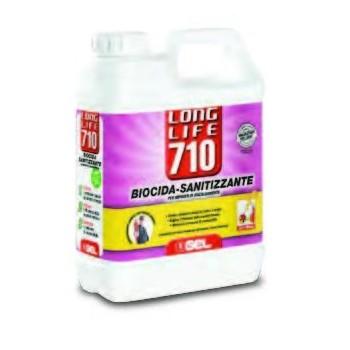 LONG LIFE 710 SANITIZZANTE 1lt - PROTEGGI DA CORROSIONI DI ORIGINE BATTERICA 11316711 - Detergenti