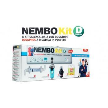 Kit Nembo D con dosatore dosaphos monocorpo, filtro neutralizzatore condense clear acid neutralizer, filtro defangatore magne...