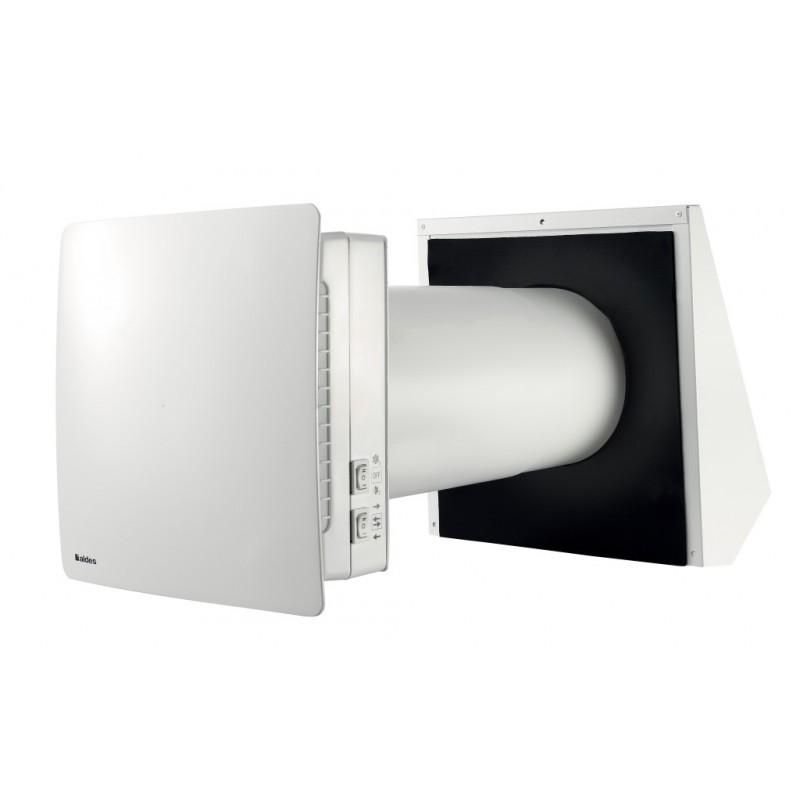 NANO AIR 50 è il sistema di ventilazione meccanica controllata a doppio flusso con recupero di calore, con telecomando 110232...