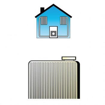 ATIGEL Anticongelante e antigelo permanente per auto e per industrie, idoneo per impianti di riscaldamento - Tanica 28kg ANTI...