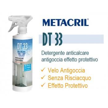 Detergente antigoccia DT33 Box d. 500ml per pulizia box doccia, con azione protettiva e anticalcare 07000512 - Materiali di c...