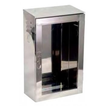 CASSETTA EST. UNI 70 INOX VUOTA A0370 - Cassette antincendio