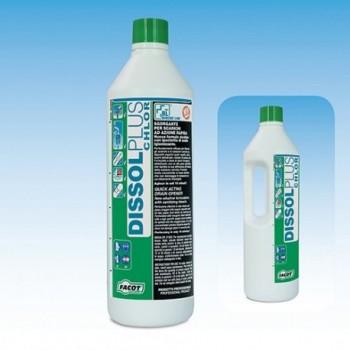 DISSOL PLUS CHLOR disotturante liquido ad azione rapida 1lt DISPLUS1000 - Additivi / Solventi/Vernici