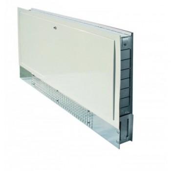 090630 Cassetta da incasso L.500 in metallo zincato con sportello bianco zincato HCO0500-630-090