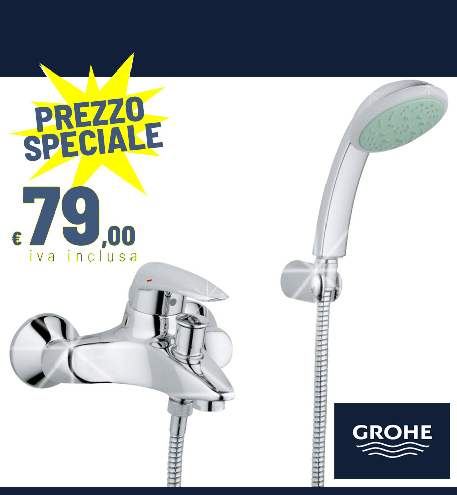 EURODISC 33395001 gruppo vasca doccia con kit doccia