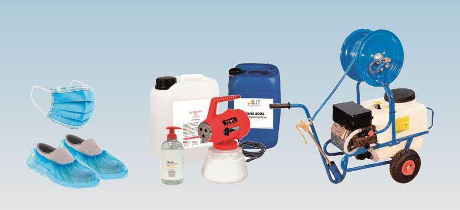 Kit per sanificazione ambienti
