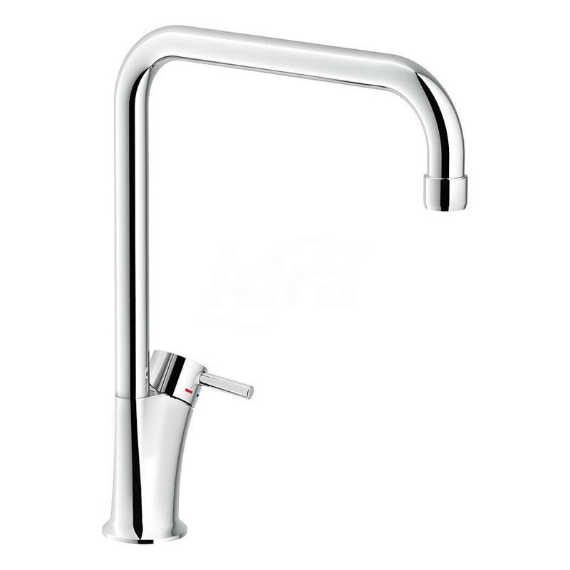 Miscelatore rubinetto lavello cucina - cromato bocca girevole