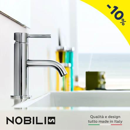 Nobili rubinetterie: qualità e design, tutto made in Italy