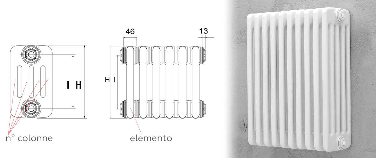 Radiatori termosifoni