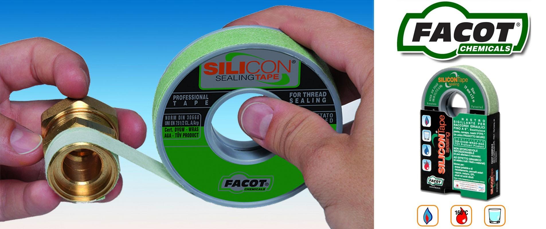Silicon Sealing Tape - Il nastro indispensabile
