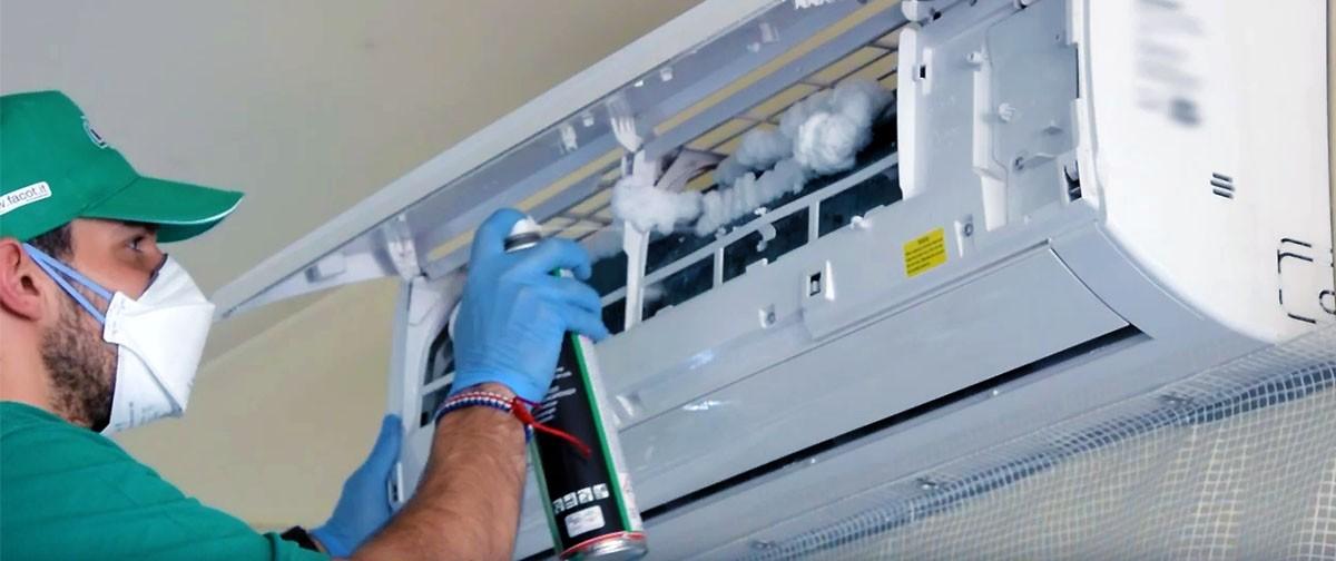 Igienizzare e detergere gli impianti di climatizzazione