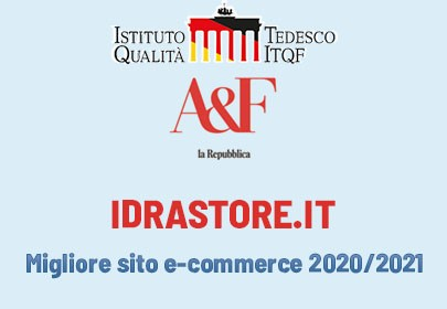 Idrastore.it tra i 500 migliori E-Commerce d'Italia 2020/2021